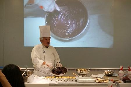 パレドオール三枝シェフから学ぶガトーショコラ教室