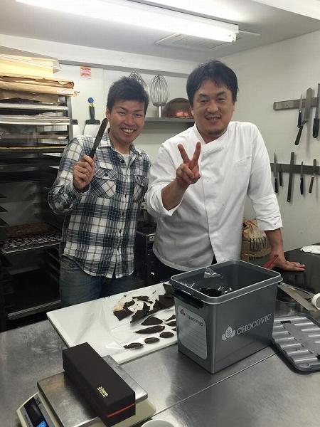 ア・テール新井シェフチョコレート講座1