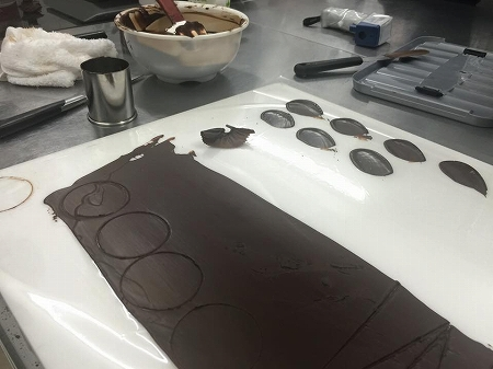 ア・テール新井シェフチョコレート講座4
