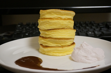 日本一高いスフレパンケーキ