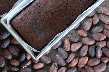 ダリケーカカオを使用したガトーショコラ