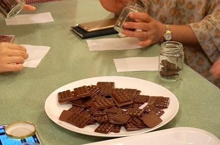 カカオ豆からチョコレートを手作り