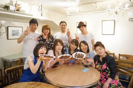 カカオ豆からチョコレート作りイベント