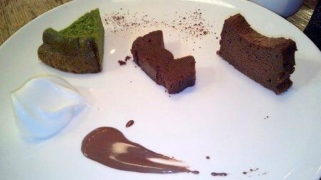 gチョコレート研究所ガトーショコラセット