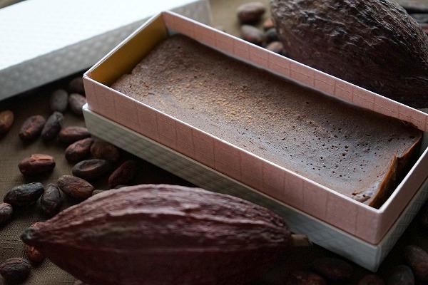 【リターン3】カカオ豆から作ったこだわりのテリーヌショコラ