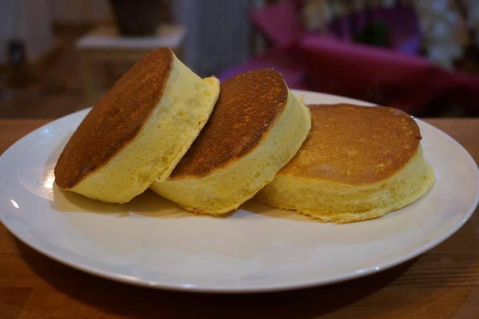 大豆粉スフレパンケーキ