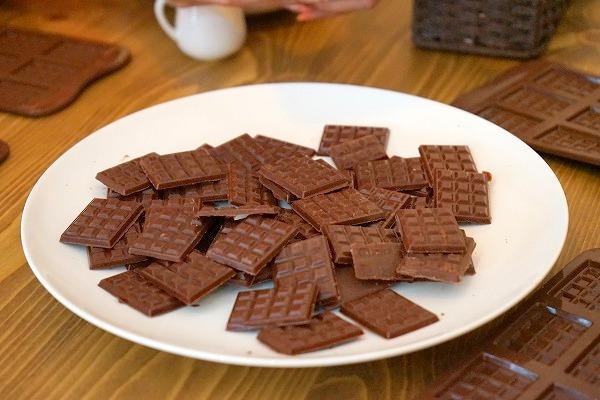 第7回カカオ豆から手作りチョコレートイベント