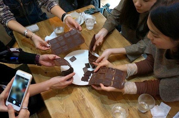 第8回カカオ豆から手作りチョコレートイベント