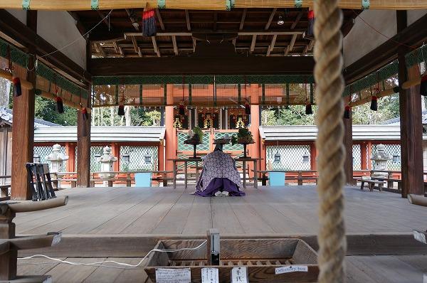 氷室神社参拝 かき氷