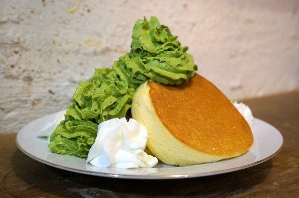 チョコレート研究所 リッチ抹茶ミルクエスプーマパンケーキ