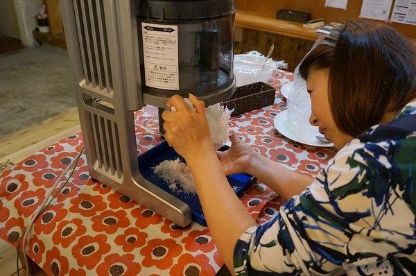 チョコレート研究所 手作りかき氷教室